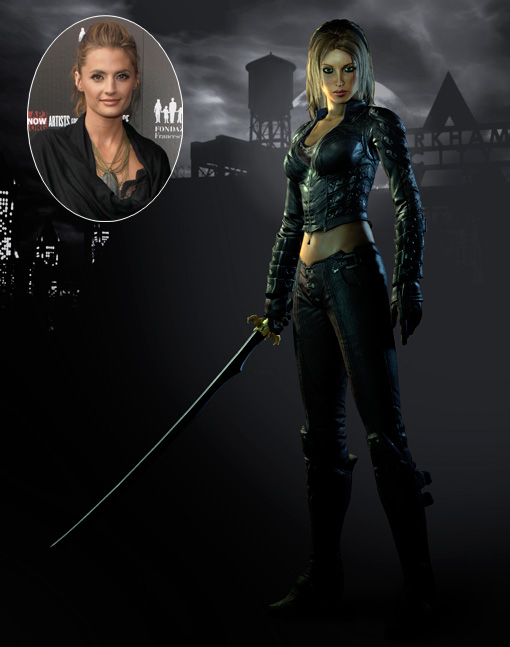 Talia al Ghul de Batman: Arkham City (Foto por Entertainment Weekly)