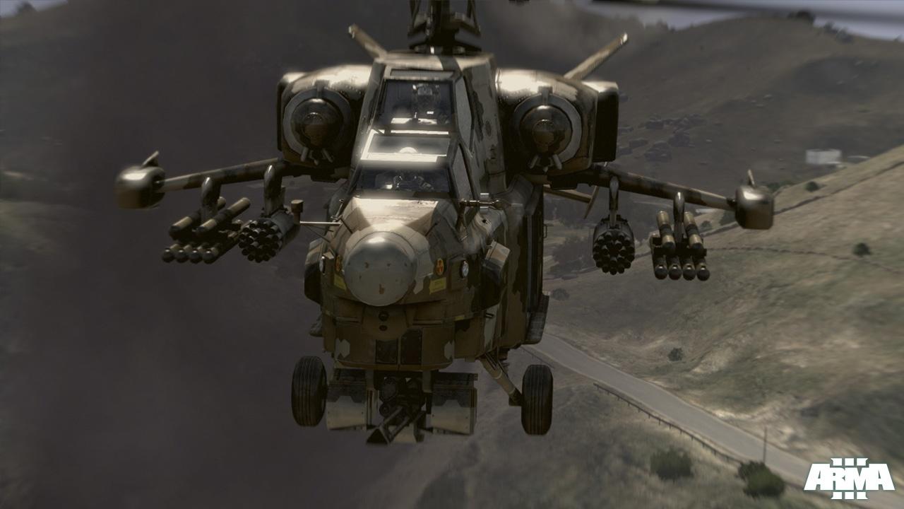 Nuevas imágenes de ArmA 3, más vehículos, más escenarios