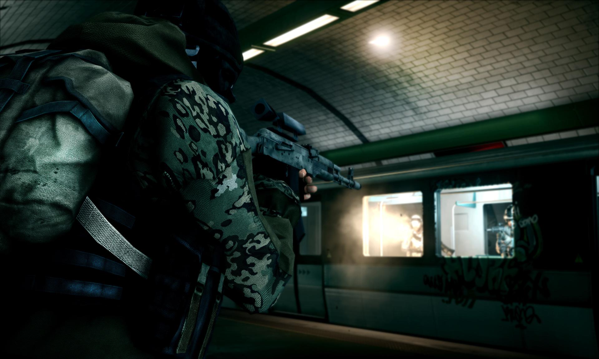 Se asoman pocas nuevas imágenes de Battlefield 3
