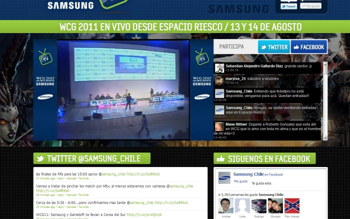 World Cyber Games Chile 2011 [Live]
