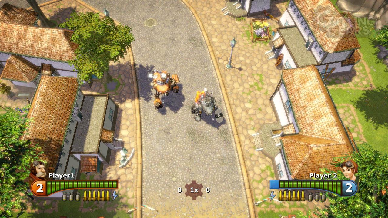 Gatling Gear disponible para PC, diversión sin complicaciones