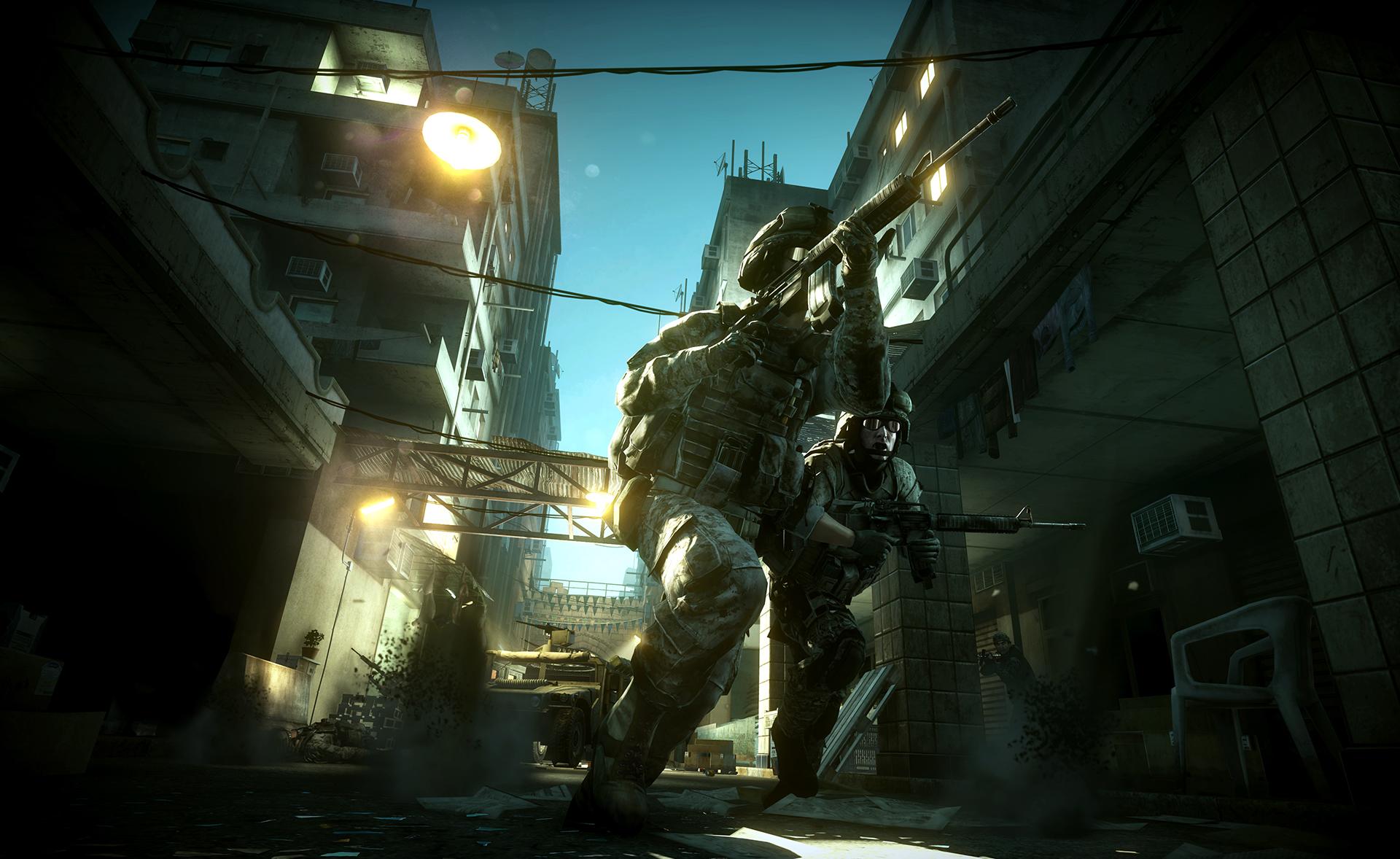 Revelado los mapas multijugador de Battlefield 3