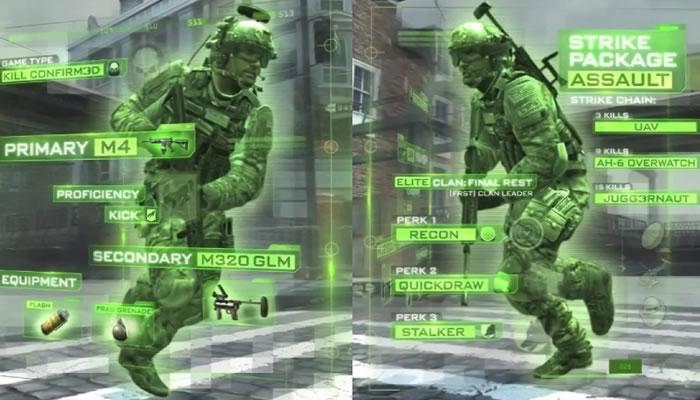 Trailer multijugador de Modern Warfare 3, viene full equipado