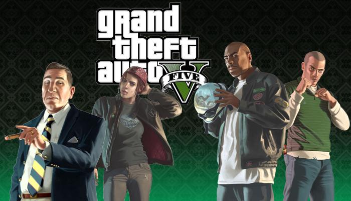 Múltiples historias y protagonistas en GTA V