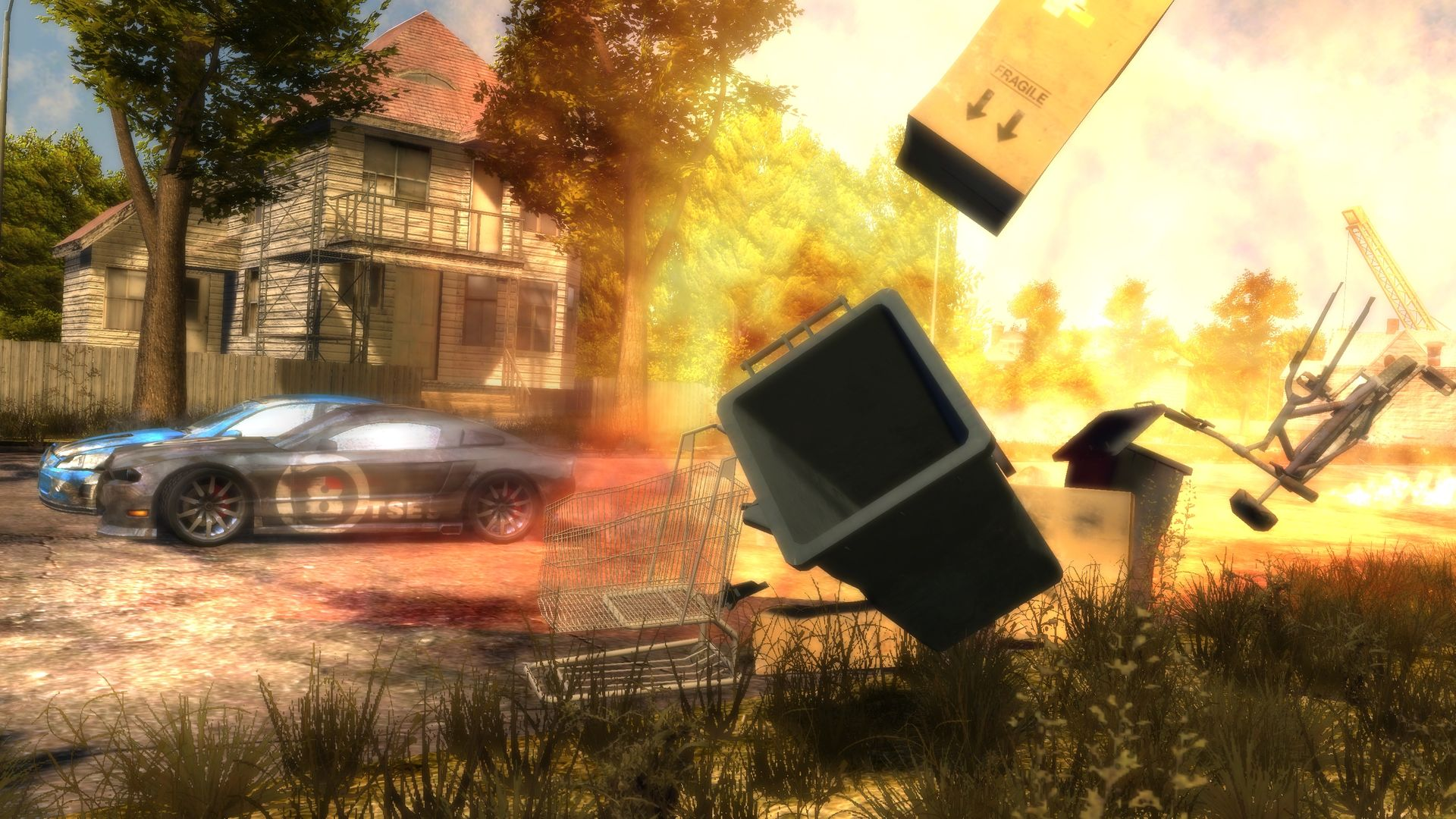 Flatout 3: Chaos & Destruction, disponible para el 13 de diciembre [Lanzamientos sorpresas]