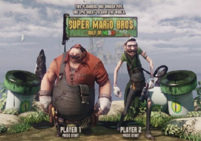 Mario y Luigi modelados usando tecnologia Unreal [Arte Amateur]