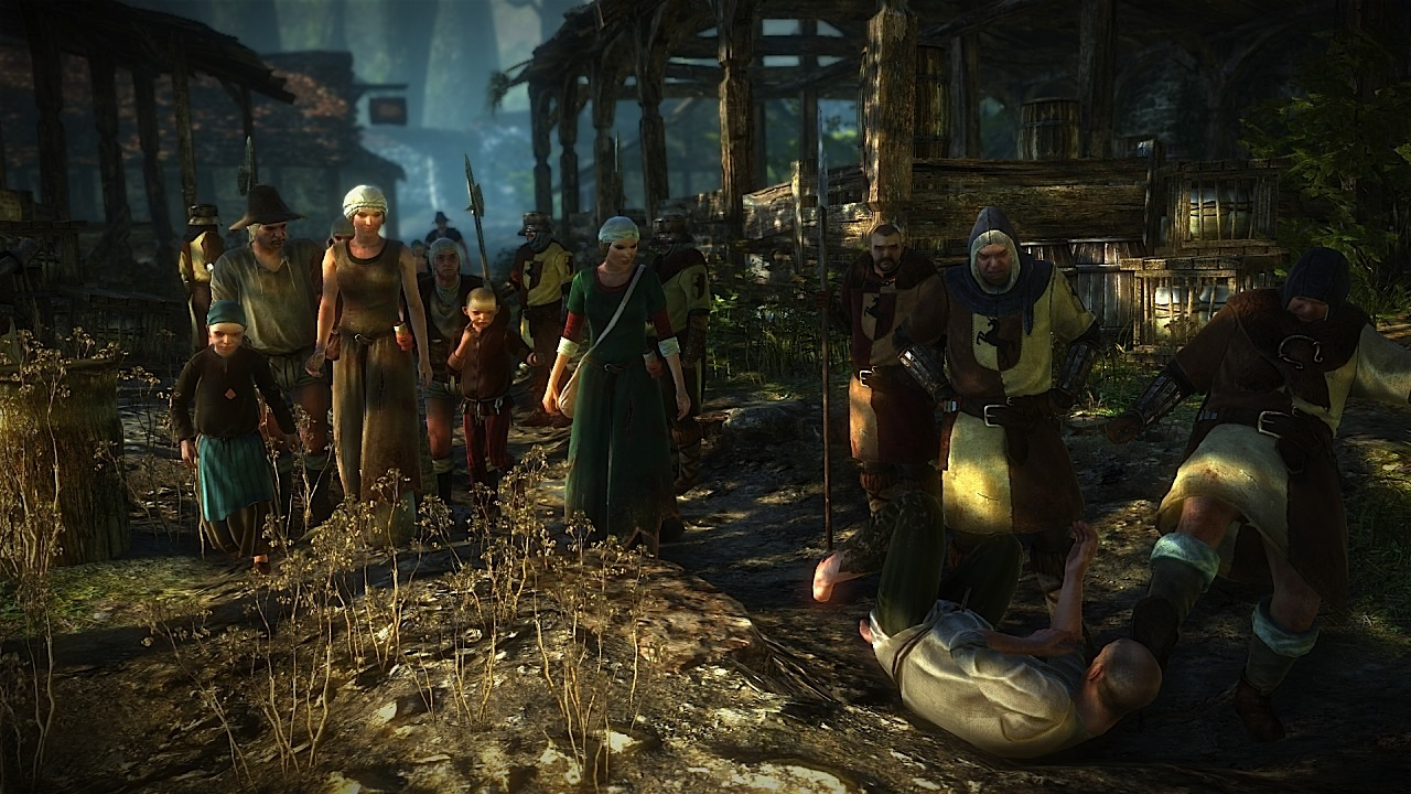 The Witcher 2: Assassins of Kings llega en dos sabores para los usuarios de Xbox 360 [+Vídeo ZOMG]