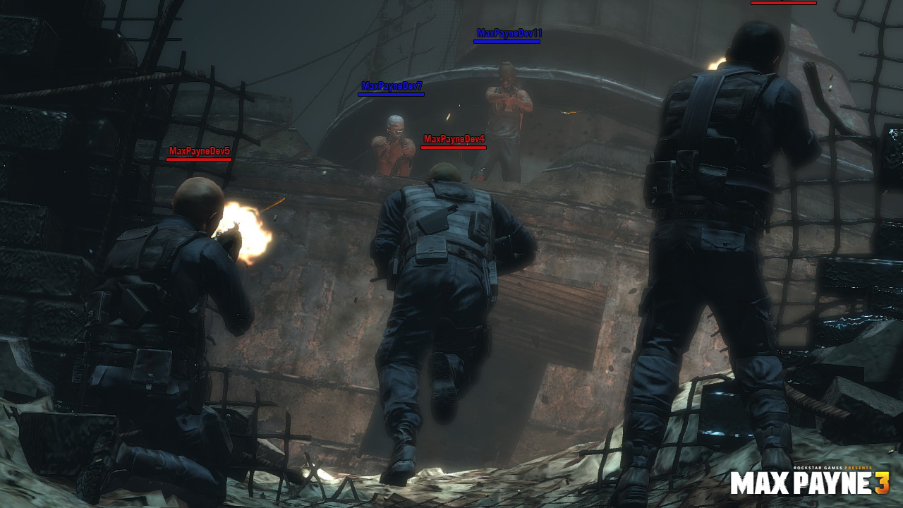 Nuevas screens de Max Payne 3 muestran explosiones y acción multiplayer [Screenshots]