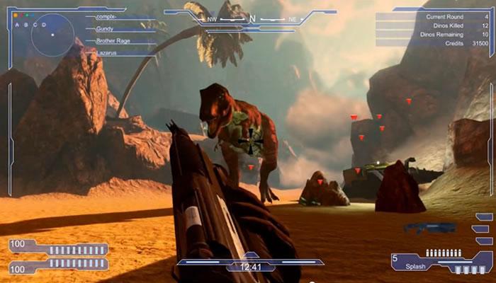 Orion: Dino Beatdown, 5 jugadores versus una horda interminable de dinosaurios [Trailer]