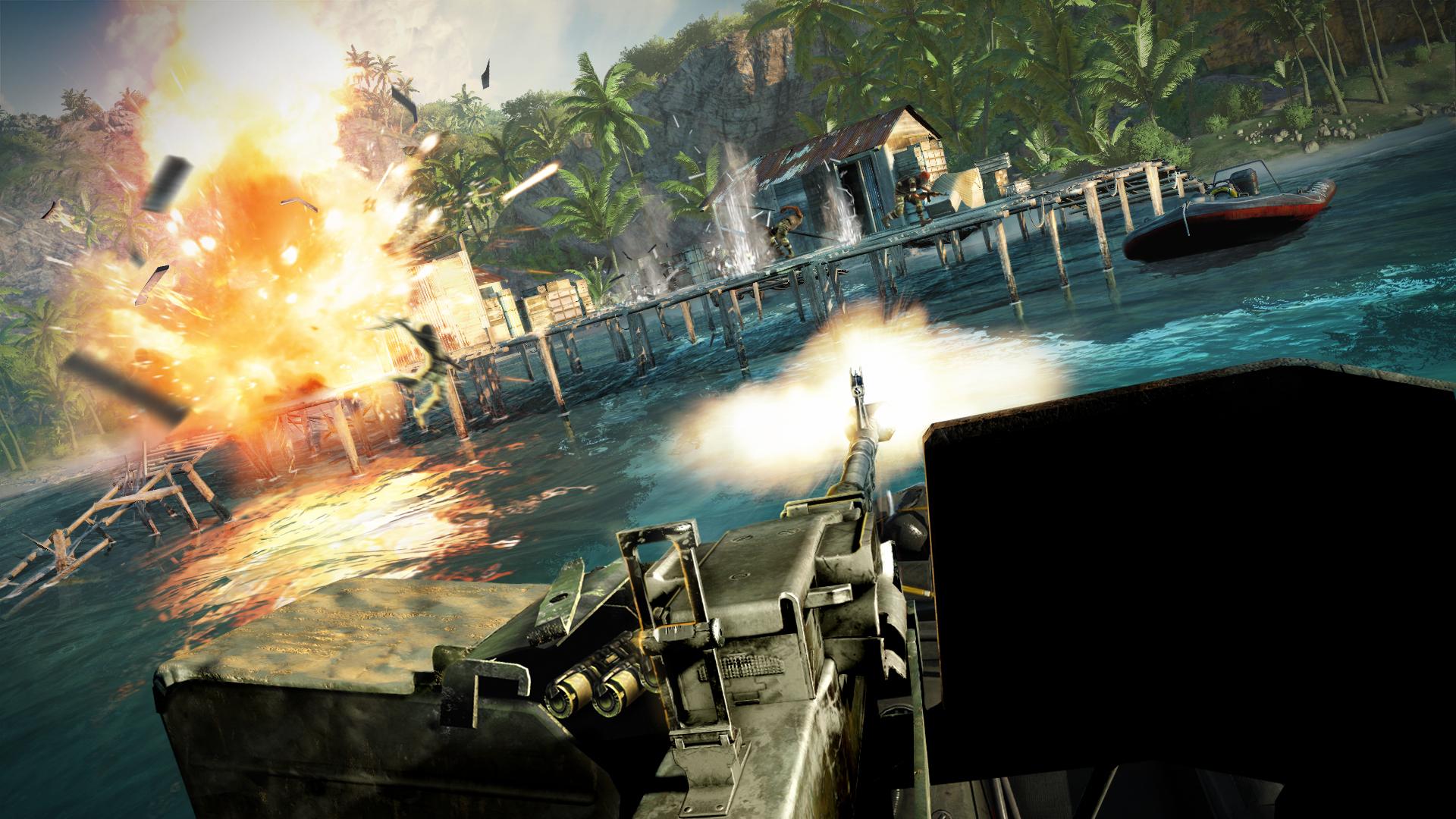 Este trailer de Far Cry 3 es una isla llena de locos con tiburones, tigres y osos [Vídeo]