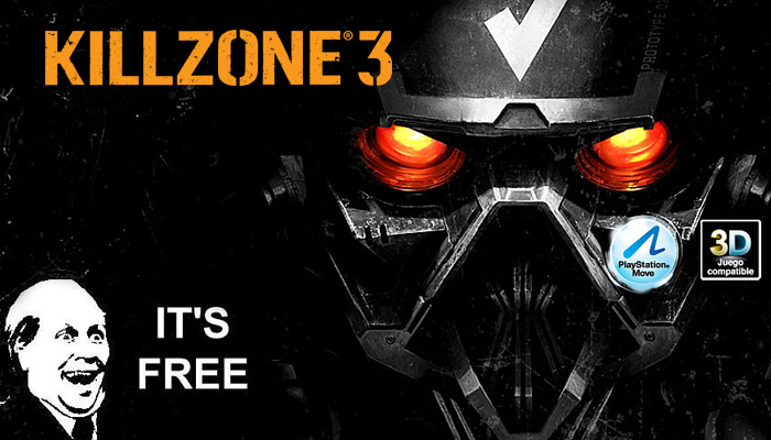 Killzone 3 Multi-player FOR FREE!