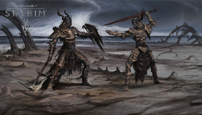 La Batalla más Épica de Skyrim [Machinima]