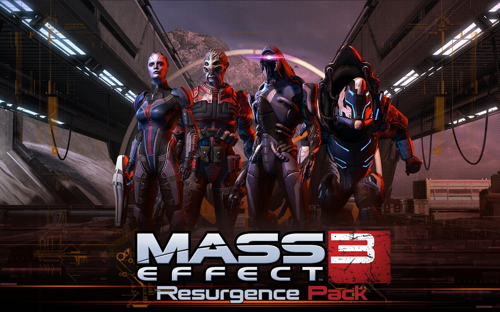 Ya puedes bajar el DLC Resurgence para Mass Effect 3 [Free DLC]