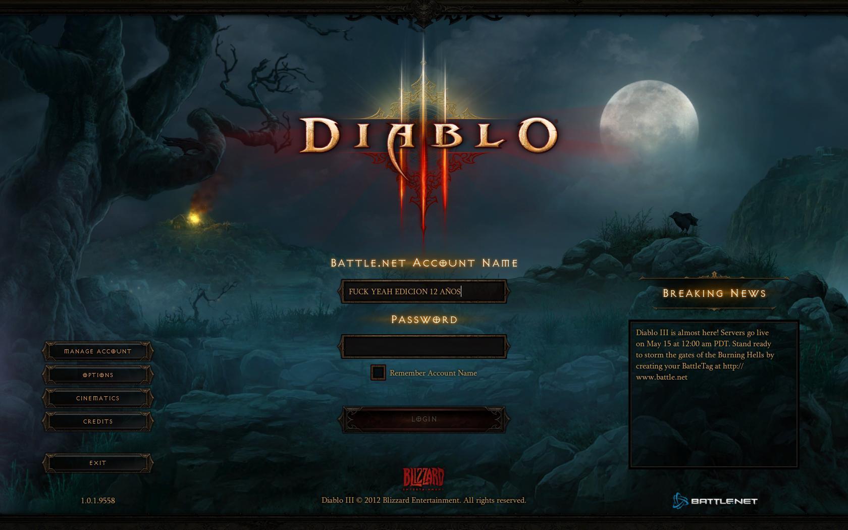 ¿Tienes tus primeras impresiones de Diablo III? cuéntanos! [SPEAK!]