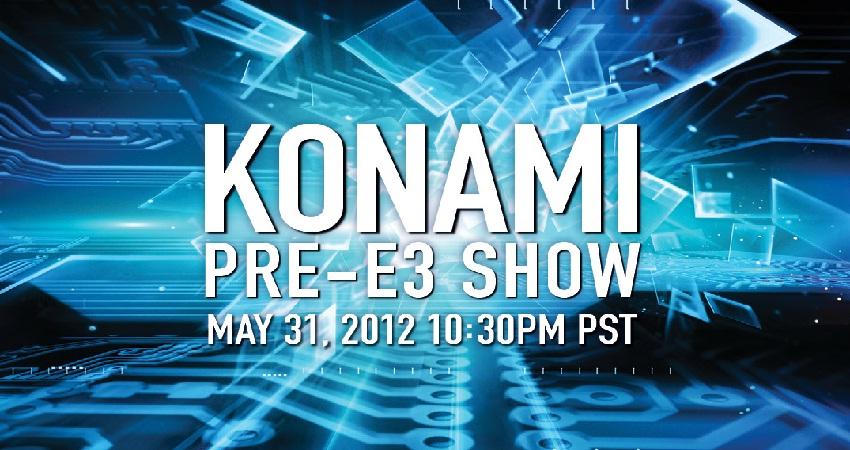 Pre-E3 konami