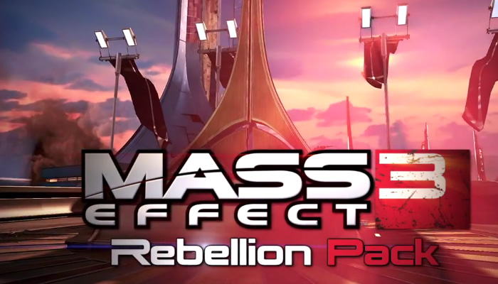 Trailer de lanzamiento de Mass Effect 3: Rebellion Pack [Recordatorio]