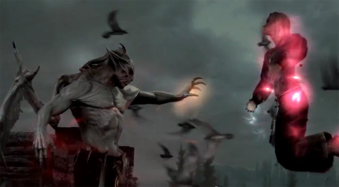Este es el primer trailer de Dawnguard, el DLC de Skyrim [FAP!] #E3