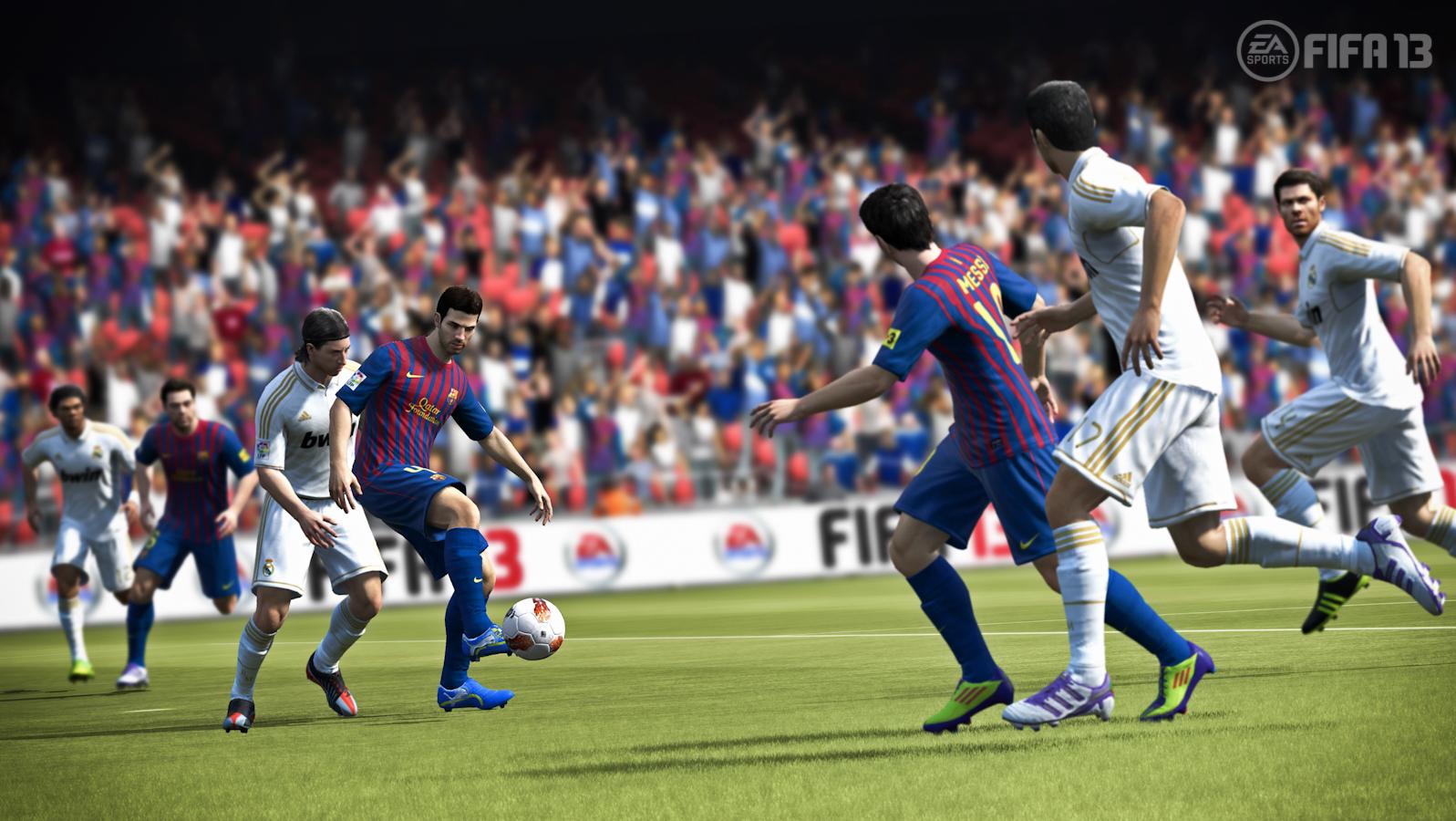 Primeras screenshots de FIFA 13 parecen reales!!! [¿Donde Está Alexis?] #E3