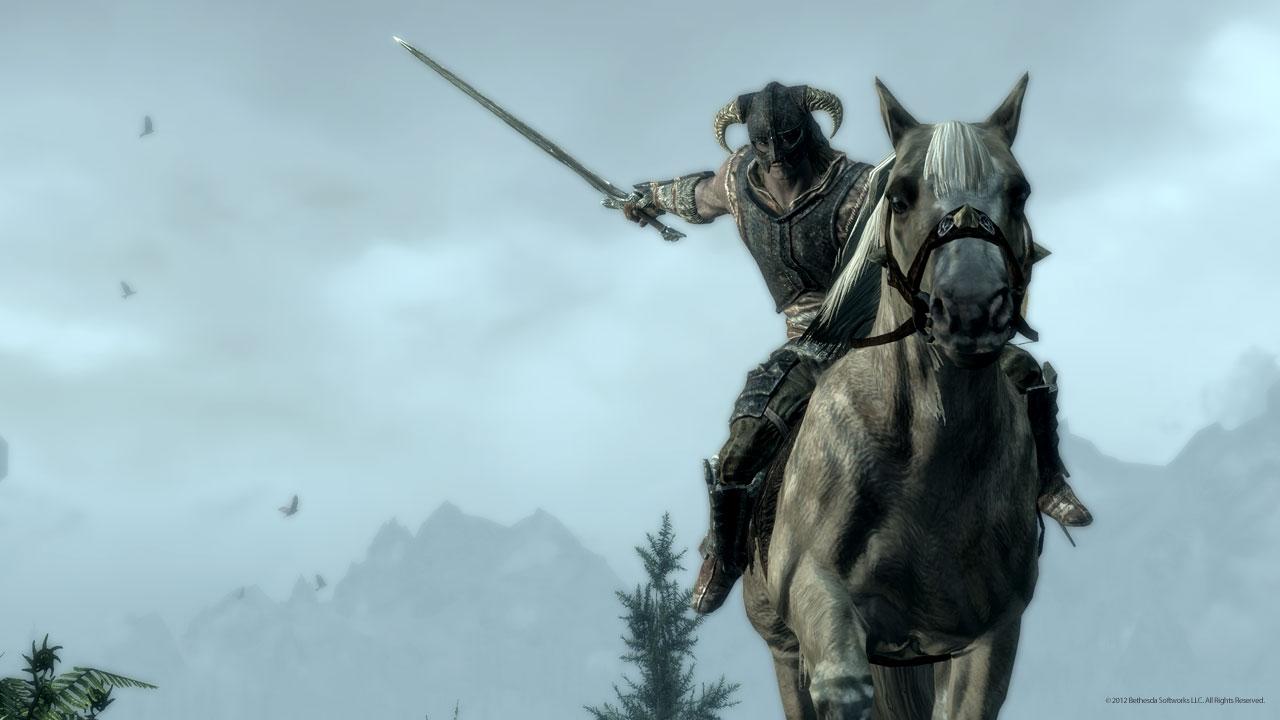 OMFG!!! Parche 1.6 de The Elder Scrolls V: Skyrim tendrá combate a caballo… GRATIS! [FUCKING YEA!!!111UNO]