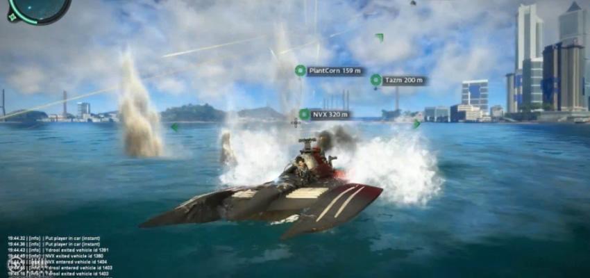La diversión en Just Cause 2 podría ser redoblada con este mod para jugarlo en linea [Vídeo]