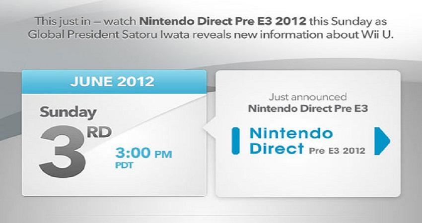 Conferencia Nintendo Pre-E3 en 10 minutos mas [Conferencia]