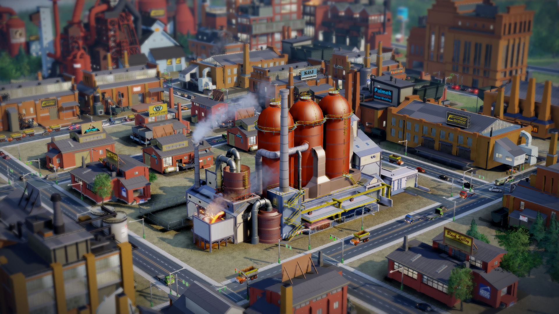 El nuevo SimCity en imágenes: Tilt-shift powered! [Screens y Video] #E3
