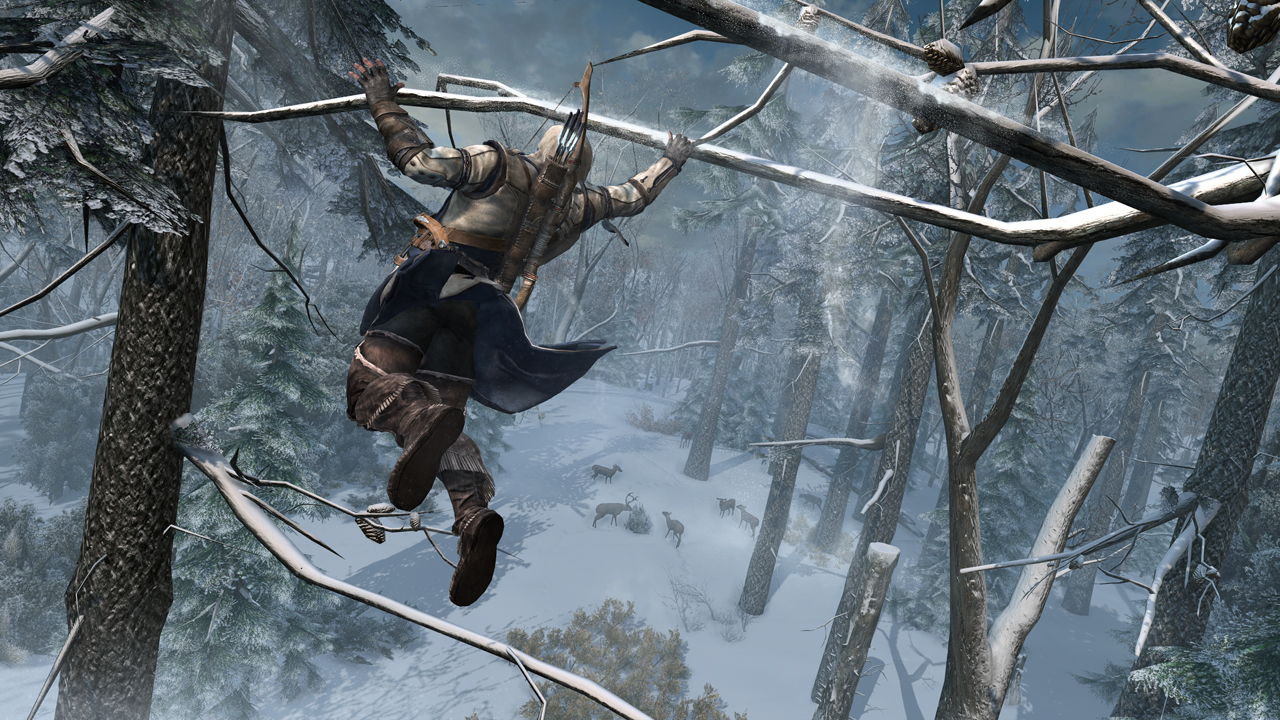 Siete minutos de gameplay de Assassin's Creed 3 comentado por sus desarrolladores [Video]