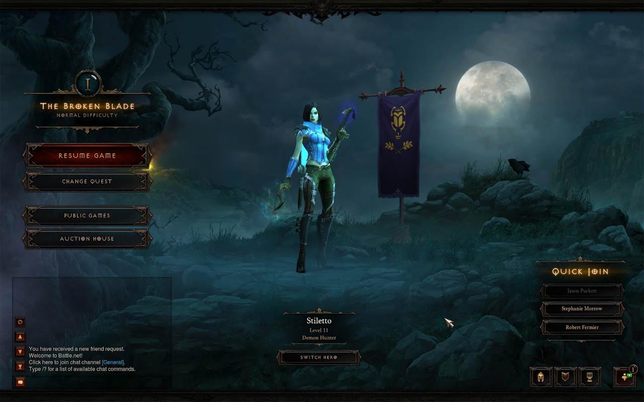 La tienda de dinero real de Diablo III entra en operaciones para América [Golden Blizzard]