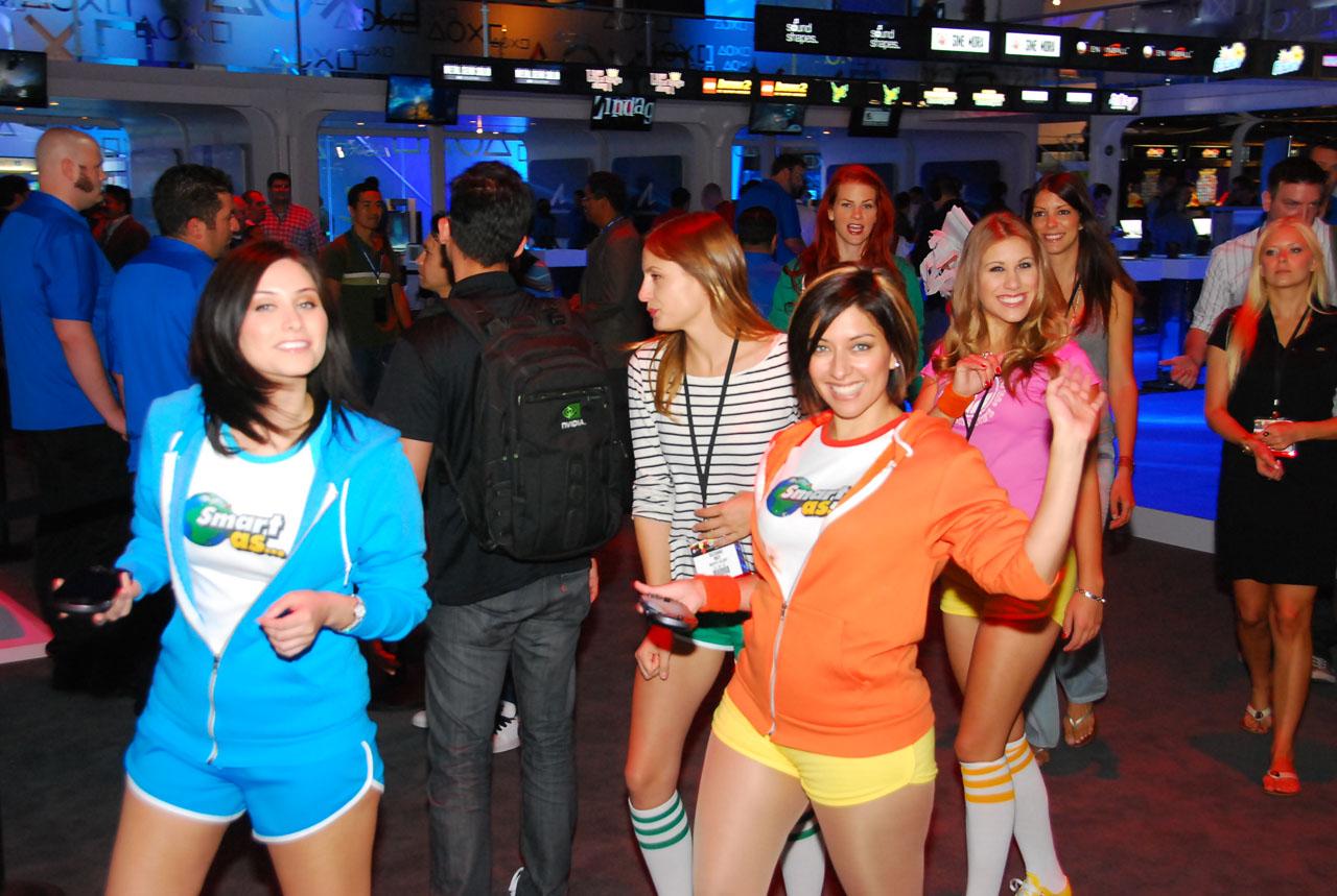 Las primeras Boothbabes capturadas por Lagazo!! [Boothbabes En Super HD] #E3