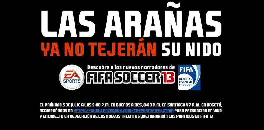 Novedades de Fifa Soccer 13 [Facebook event]