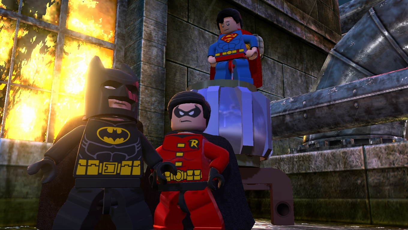 Dramático trailer de lanzamiento de LEGO Batman 2: DC Super Heroes [Video]