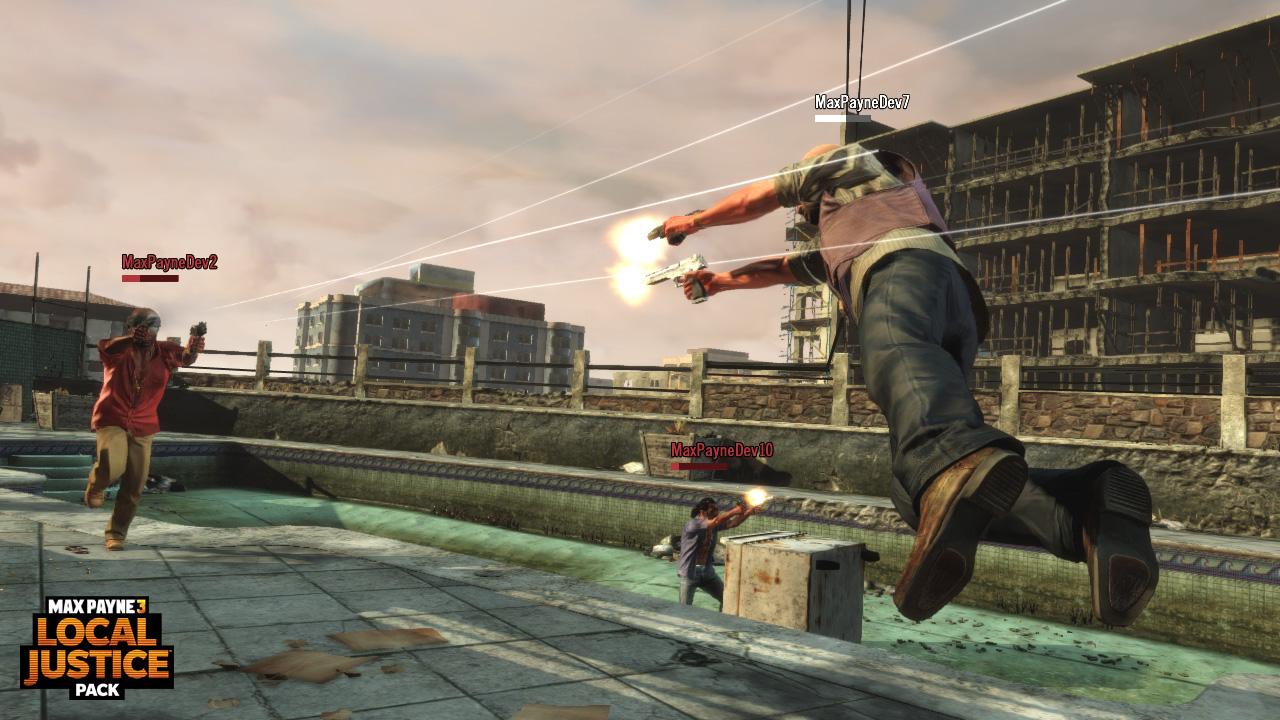Max Payne 3: Local Justice Pack, más contenido para el modo multijugador [DLC]