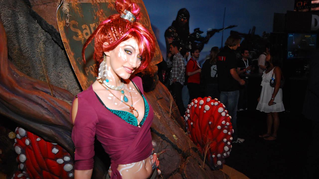 Lo que queda de Boothbabes, Cosplayers y otras tonteras en la E3 2012! por Lagazo Premium En Super HD #E3