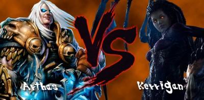 Arthas-vs-Kerrigan