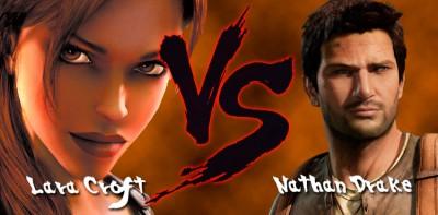Lara-Croft-vs-Nathan-Drake