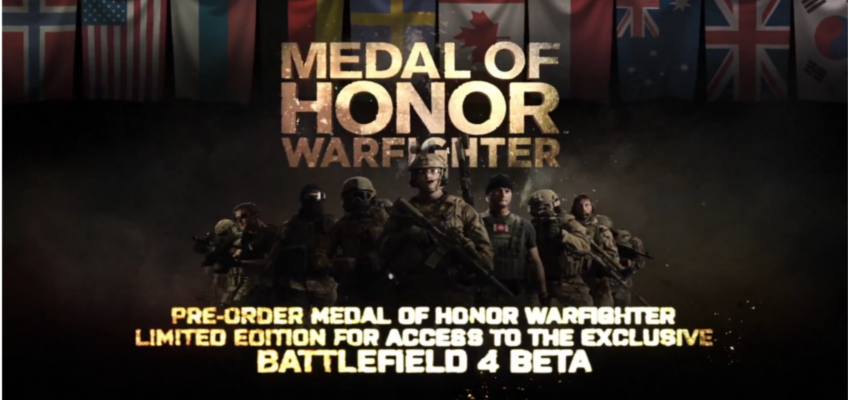 Confirmado: Pre-ordenar Medal of Honor: Warfighter Limited Edition te da acceso temprano a la beta de Battlefield 4 [Vídeo]