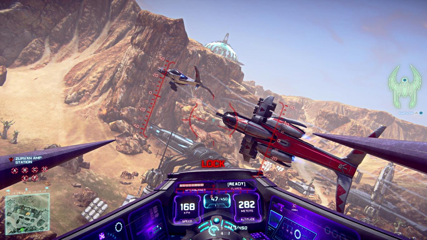 Planetside 2 llegará a PS4, así es como se vera en la consola [E3 2013]