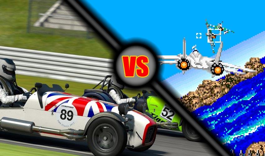 Versus: Simulación contra Arcade [3]