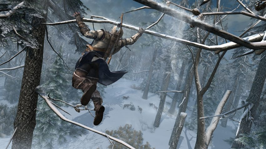 El nuevo trailer de Assassin's Creed 3 está entero pasado a gringo [Gringo Video]