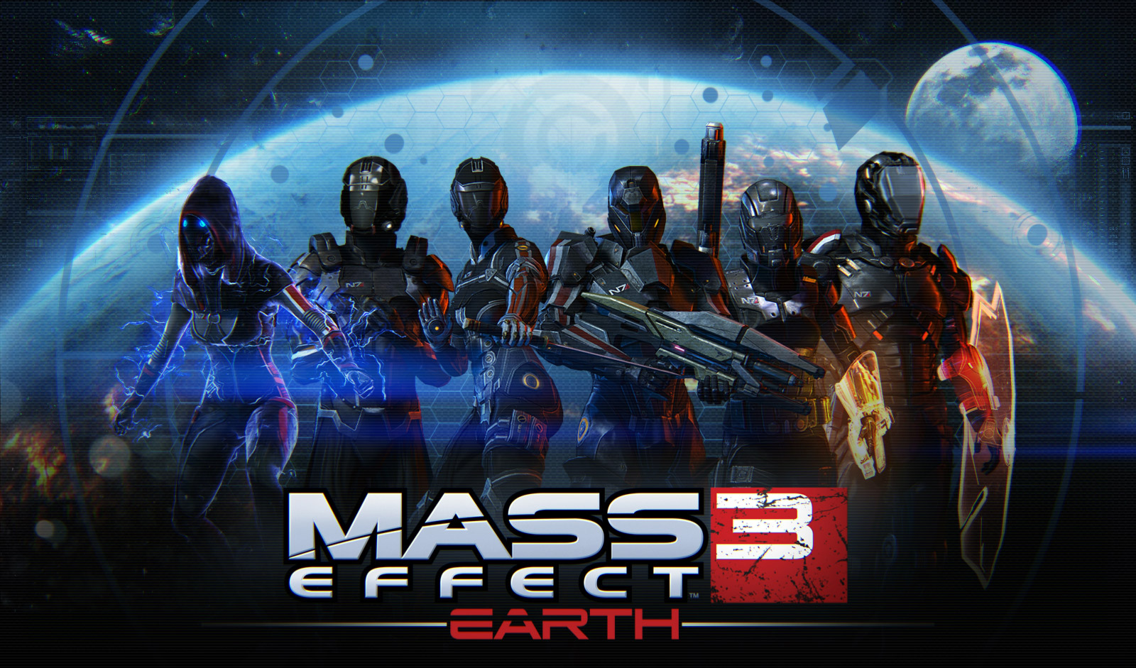 Mass Effect 3 Earth DLC