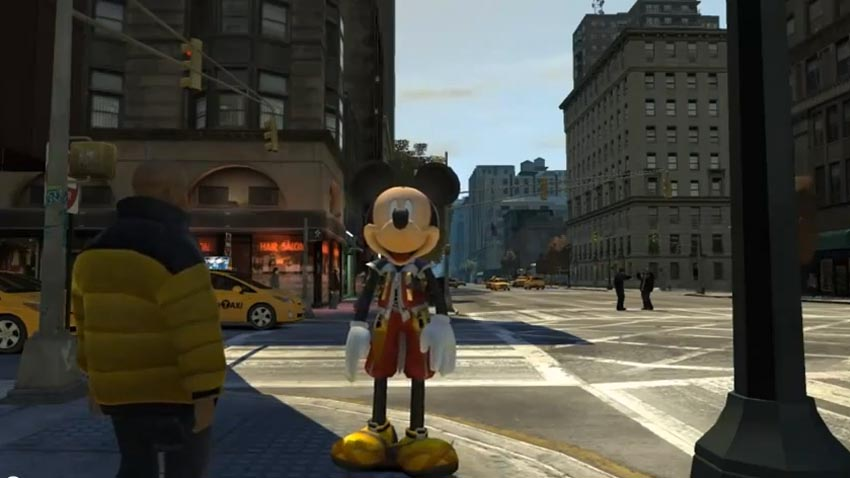 Mickey Mouse GTA IV