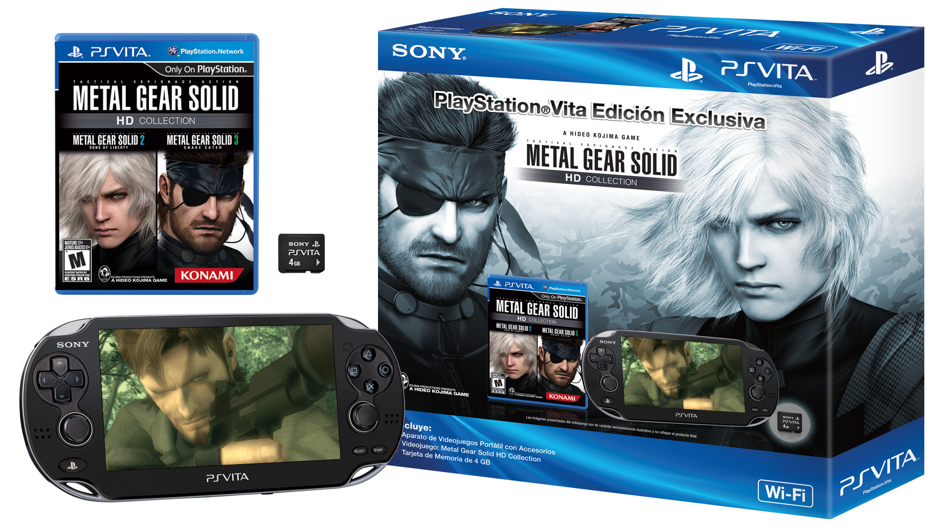 Sony anuncia un nuevo bundle de PS Vita con Metal Gear Solid HD Collection… y hay precio! [Vita]