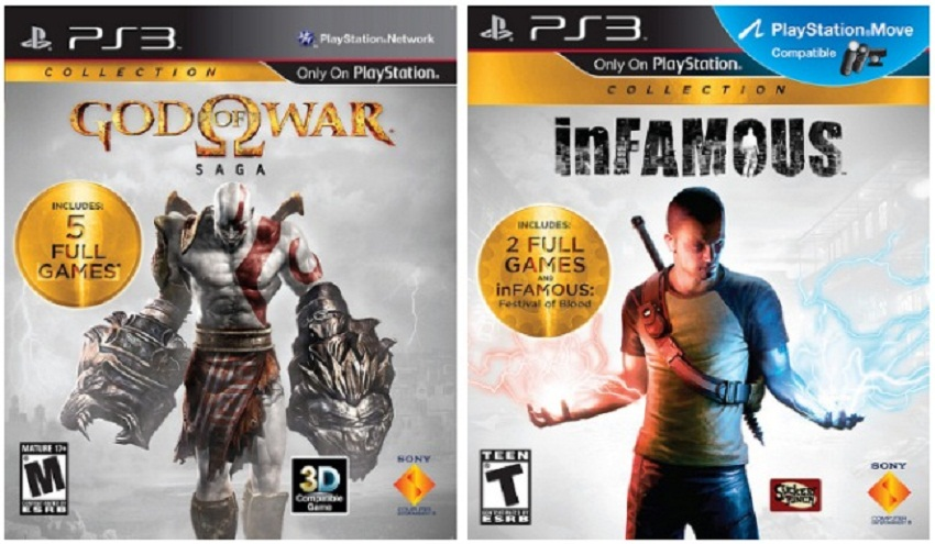 Sony anuncia de God Of War Saga y InFamous Collection [Como Lo Hacen?….]