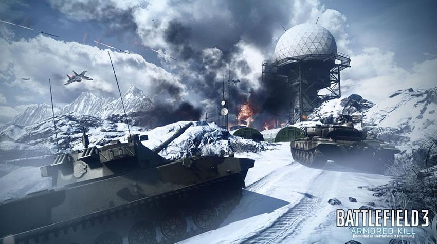 El DLC de Battlefield 3, Armored Kill, ya tiene fecha de lanzamiento