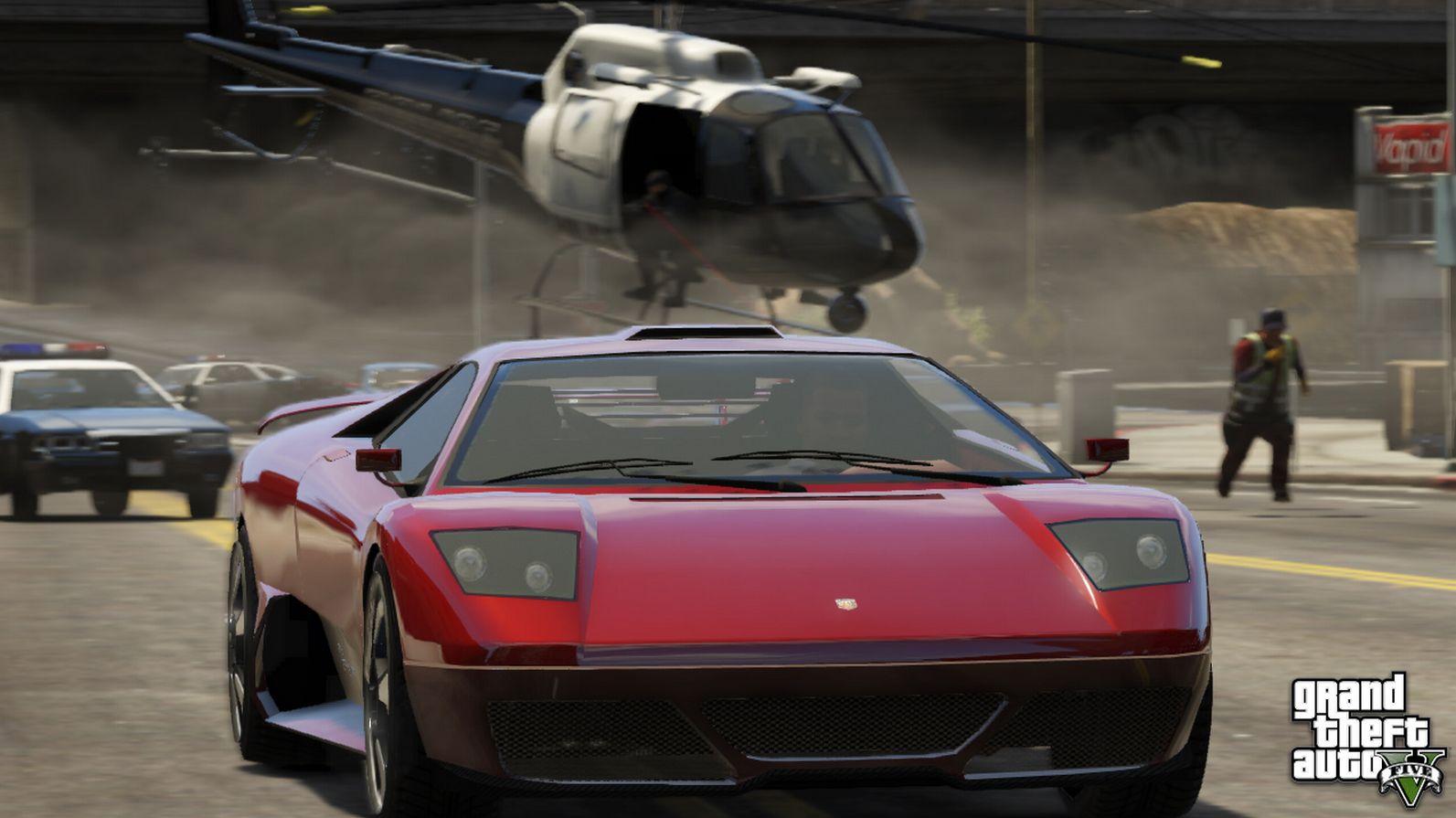 Otro set de screens de GTA V: Helicópteros, Biplanos…. VOY A LLORAR [Felicidad]