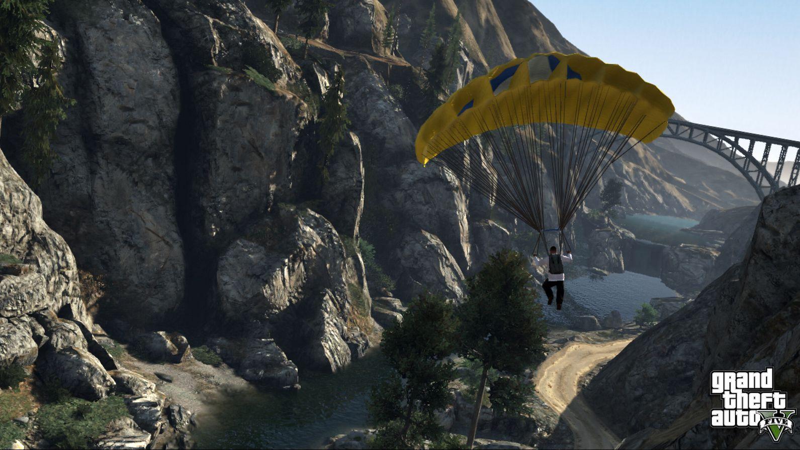 Nuevas screens de GTA V: Tenis, Motos y Paracaídas [FUCK YEA!]
