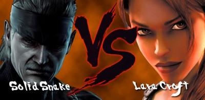 Solid-Snake-vs-Lara-Croft