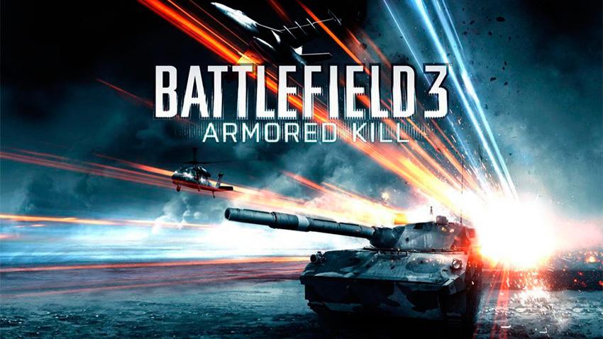 El trailer de lanzamiento de Battlefield 3: Armored Kill es un placer visual [Vídeo]