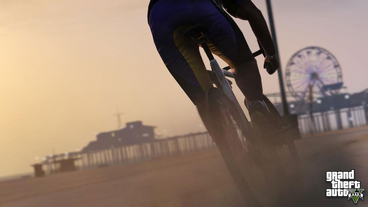 A los de GTA V les gustan las bicis sin asiento [NUEVAS SCREENSHOTS!]
