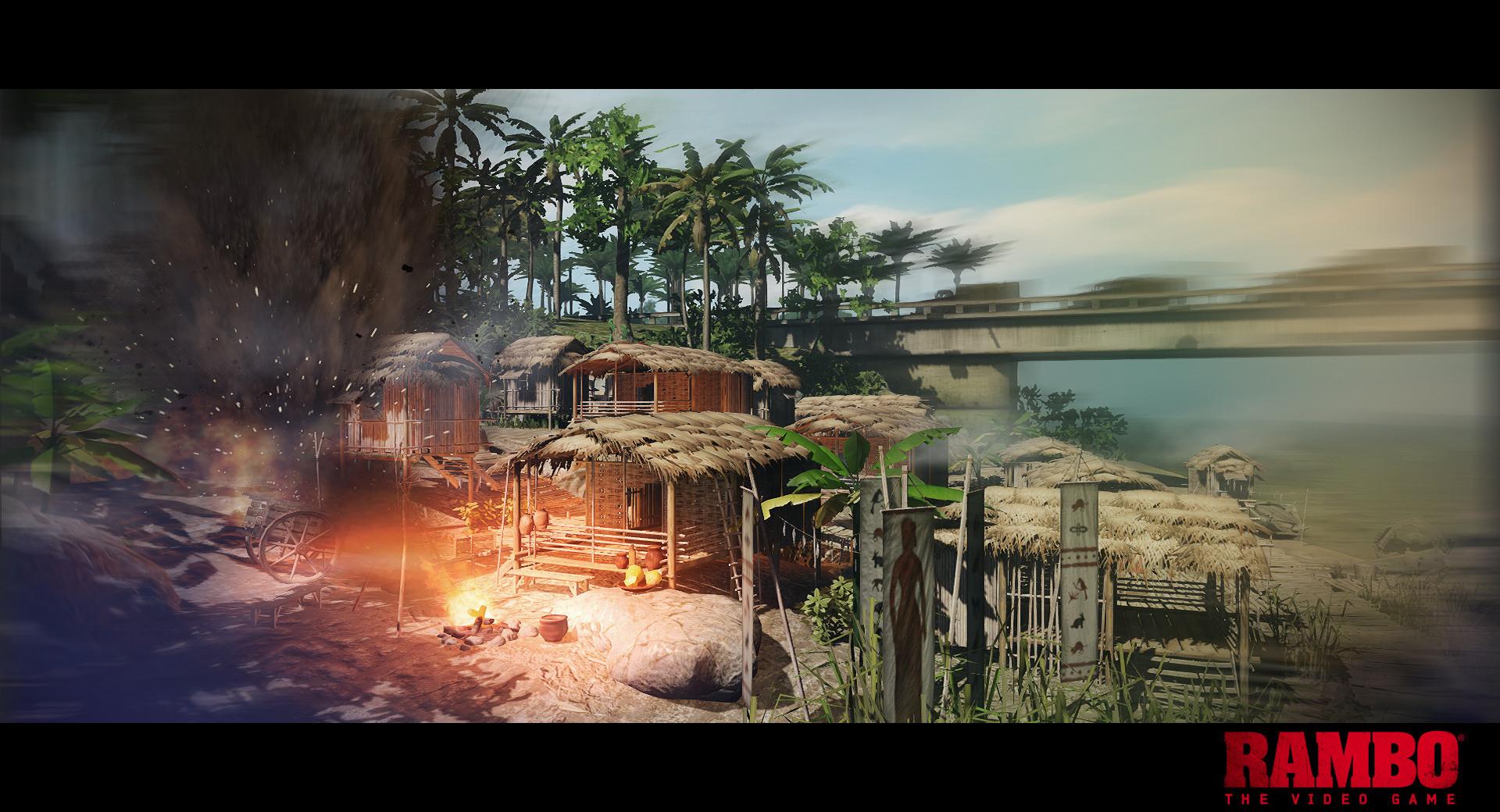 Otro juego que se une a la lista de pésimas adaptaciones de películas, Rambo: The Videogame [Vídeo]